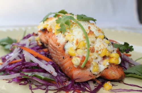 Elote-Style Trout