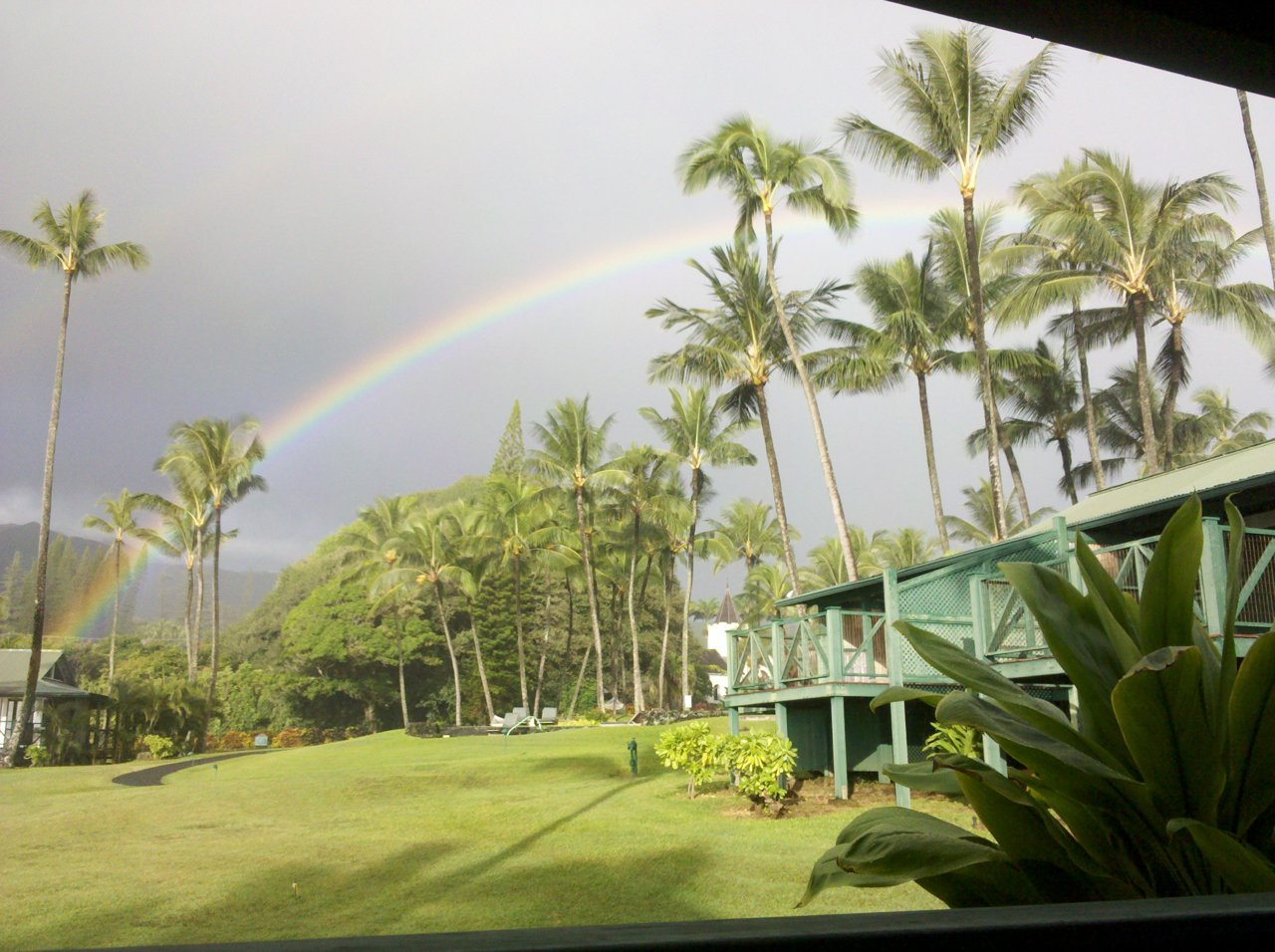 Waking up to the serenity of a rainbow overhead. Frifotos is a weekly Twitter chat started by @Epste