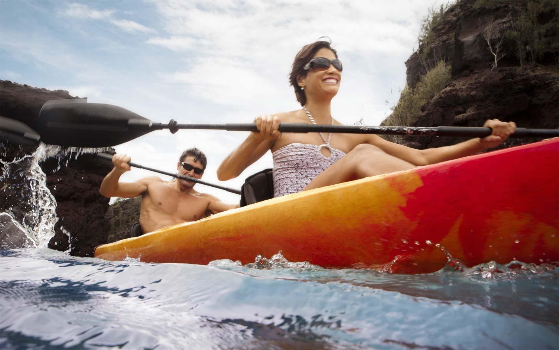 Sea Kayaking at Hana, Maui