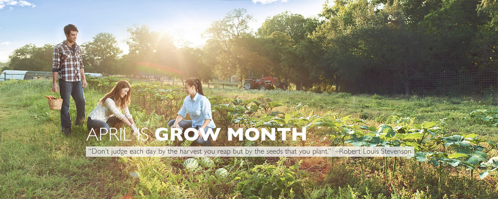 April is Grow month at Travaasa