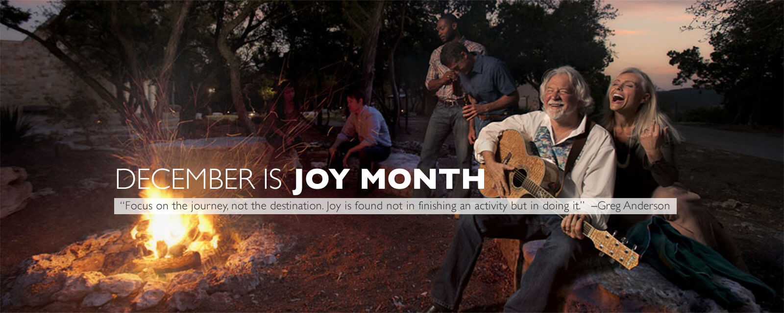 December is joy month at Travaasa